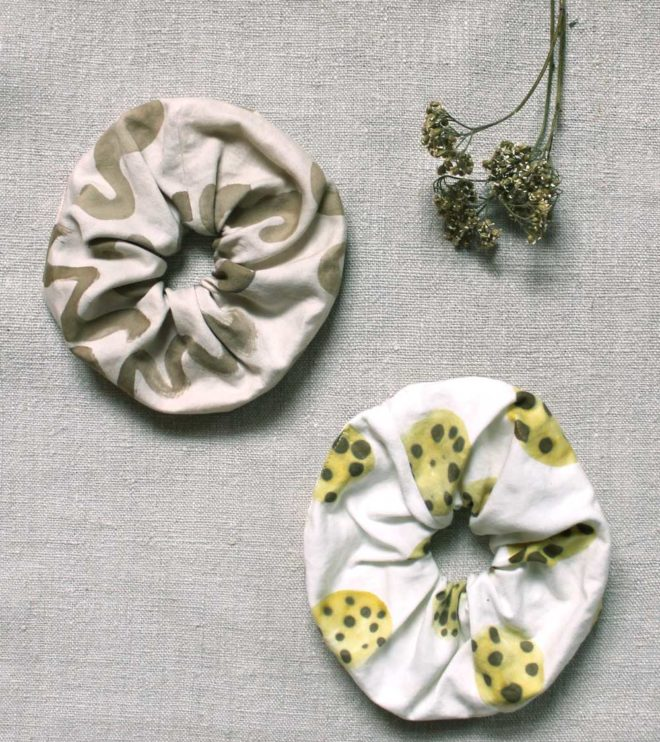 Muster Scrunchies